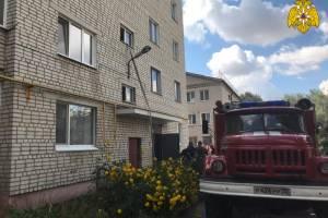 В Стародубе из горящей пятиэтажки эвакуировали 15 человек