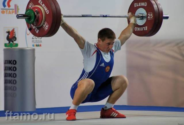 Брянский тяжелоатлет взял серебро на Кубке России