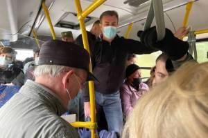 Брянцев шокировала жуткая давка в автобусах из-за отсутствия маршруток