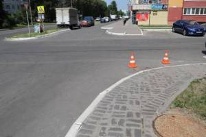 В Брянске дорогу к школе №71 обезопасят к концу года
