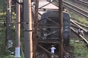 В Брянске подростки устроили селфи на железной дороге
