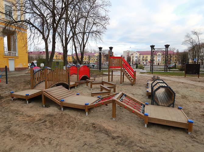 В брянском парке ДК железнодорожников появится «Территория детства»