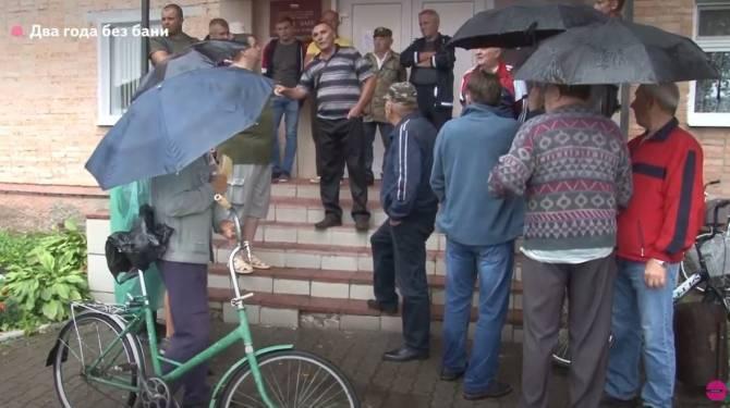 «А где салют»?: в Карачеве на день открыли муниципальную баню