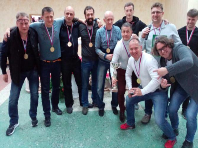 В Туле сборная брянских журналистов победила на футбольном турнире