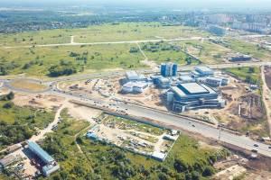 В Брянске открыли все шесть полос участка дороги по Объездной