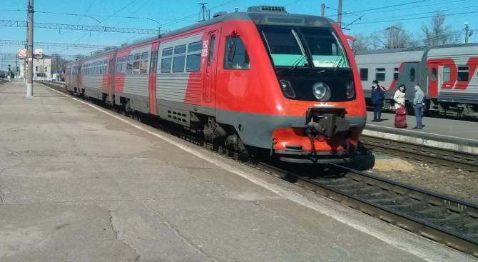 В конце мая в Брянской области изменится маршрут нескольких поездов