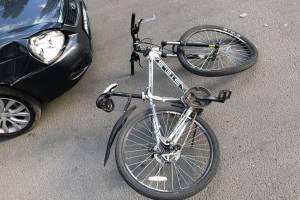 В Клинцах водитель иномарки сломал череп 13-летнему подростку на велосипеде