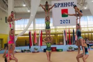 В Брянске прошел чемпионат области по спортивной акробатике