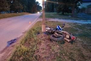 На Брянщине за месяц в ДТП с мотоциклами погибли пять человек