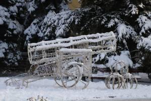 Брянск начал одеваться в новогоднее убранство
