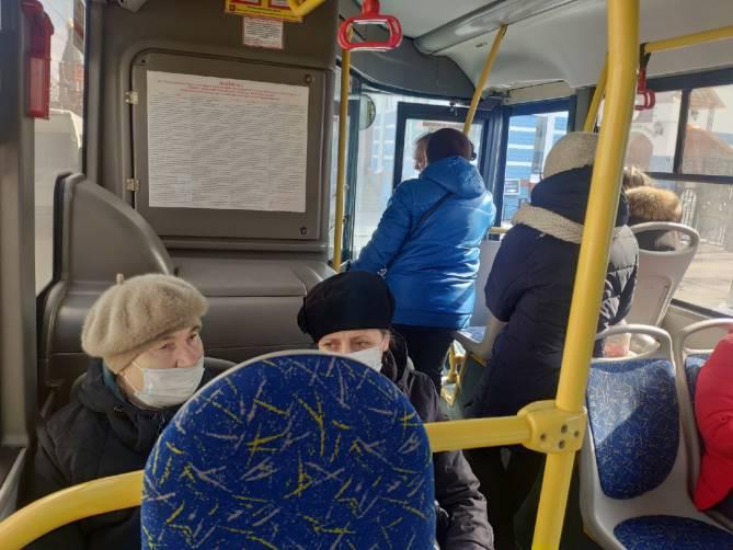 В Брянске несколько раз заглох автобус №25