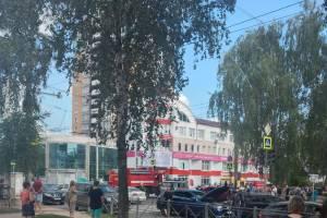 В Брянске на пересечении улиц Костычева и Крахмалёва случилось ДТП