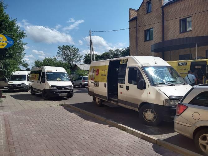 В Брянске опубликованы фото задержания ФСБ маршрутчиков
