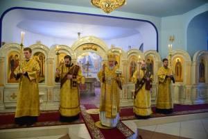 В Брянске в канун торжества православия состоялось всенощное бдение