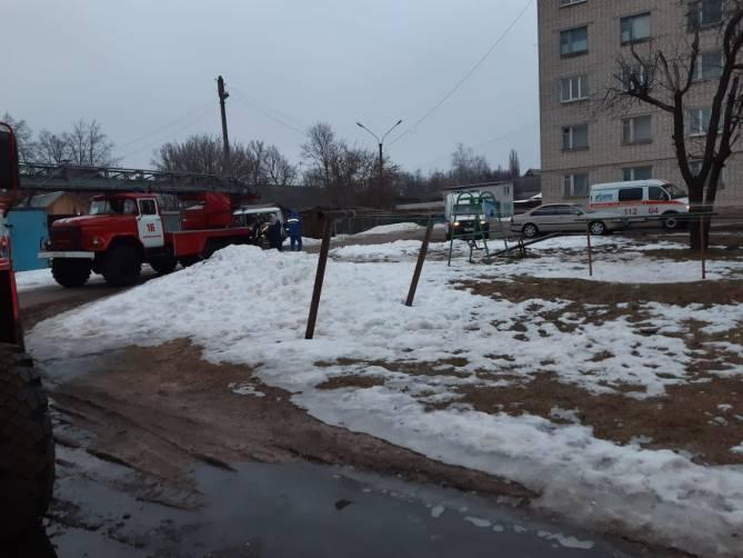 В Новозыбкове нашли труп при тушении пожара в общежитии
