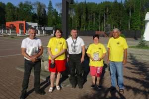 В Брянске побывали участники мотопробега в честь Великой Победы