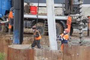 В Брянске продолжается строительство дороги от «Metro» к вокзалу