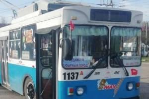В Брянске из-за расширения Объездной изменится схема движения троллейбусов