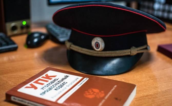 В Брянске завели уголовное дело на высокопоставленного полицейского
