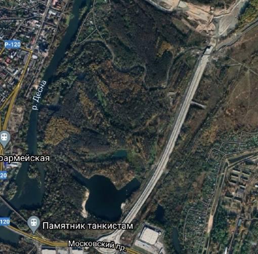 На карте Google появилась новая дорога от Metro к вокзалу Брянск-I