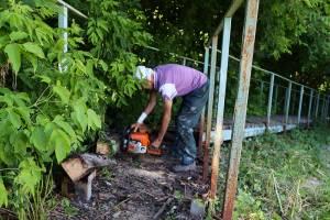 Начался ремонт убитой лестницы от «Пушки» к гостинице «Брянск»