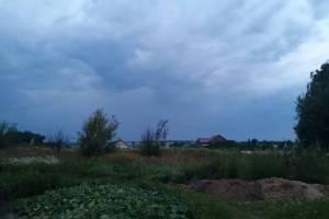 На брянский поселок Выгоничи обрушился ливень с грозой