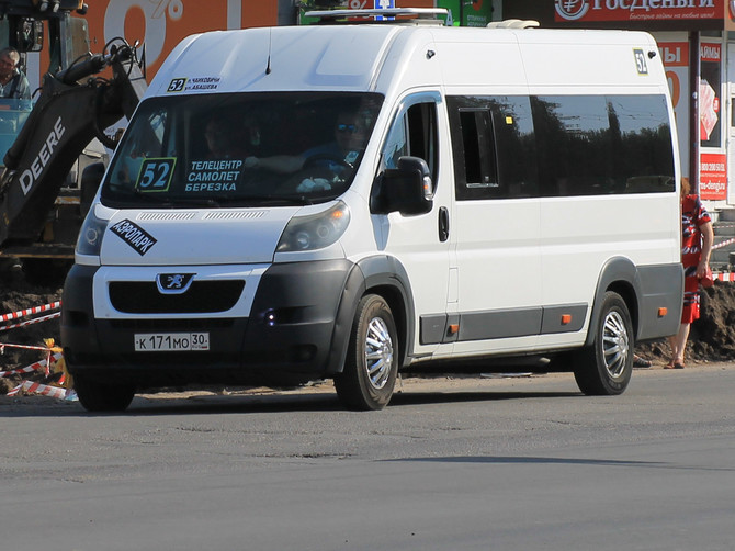В Брянске предложили запретить маршрутки №52