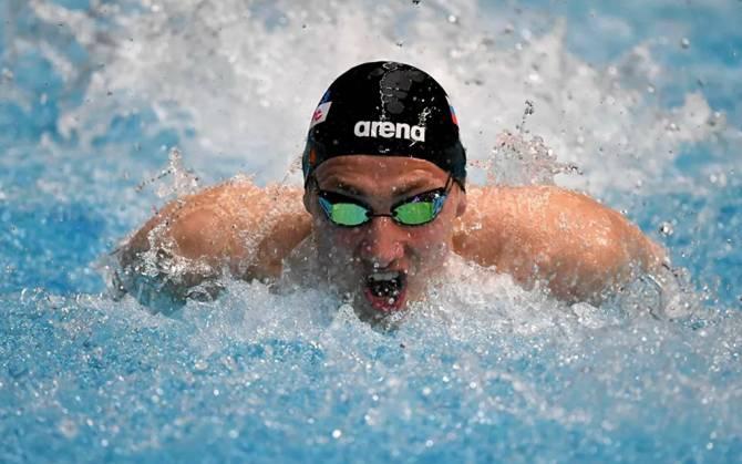 Брянский пловец Илья Бородин установил очередной рекорд области
