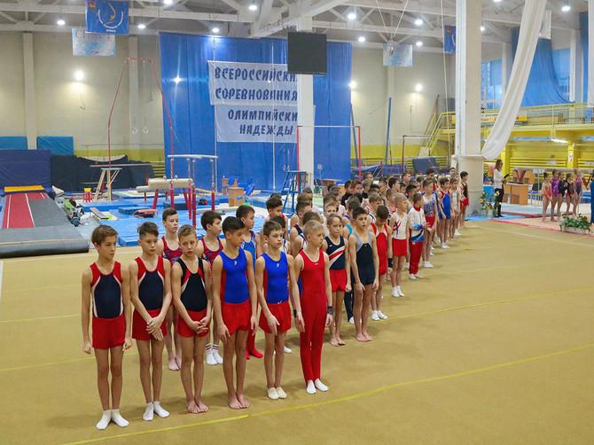 В Брянске стартовал турнир по спортивной гимнастике «Олимпийские надежды»