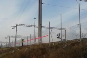В Брянске на станции Орджоникидзеград железнодорожные пути оградили забором