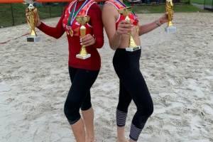Брянские девушки победили на чемпионате ЦФО по пляжному волейболу