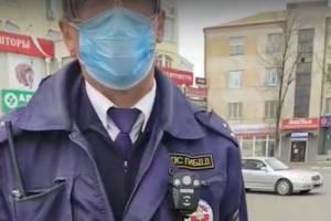 В Брянске устроили облаву на нарушителей «масочного» режима