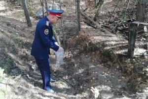 В Суземке парень закопал тело убитого отца в лесу