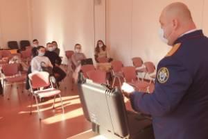 Брянские следователи рассказали студентам юрфака о своей работе