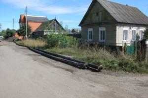 В Брянске лес на Камвольном залило нечистотами из-за засора канализации
