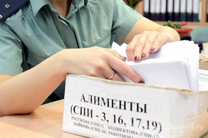 Брянский уголовник задолжал ребёнку 120 тысяч рублей алиментов