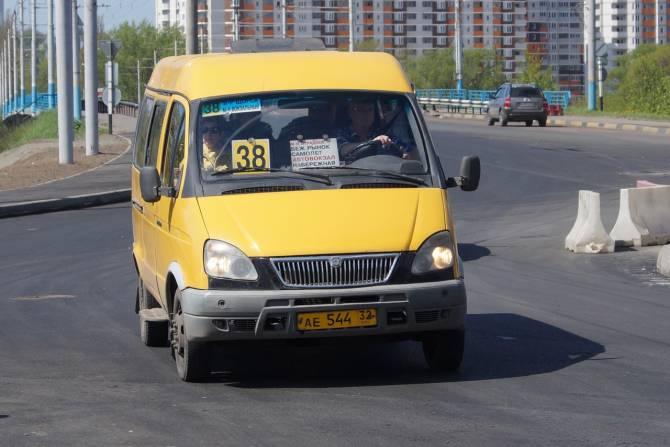 В Брянске в течение года ликвидируют маршрутки №№38, 47 и 88