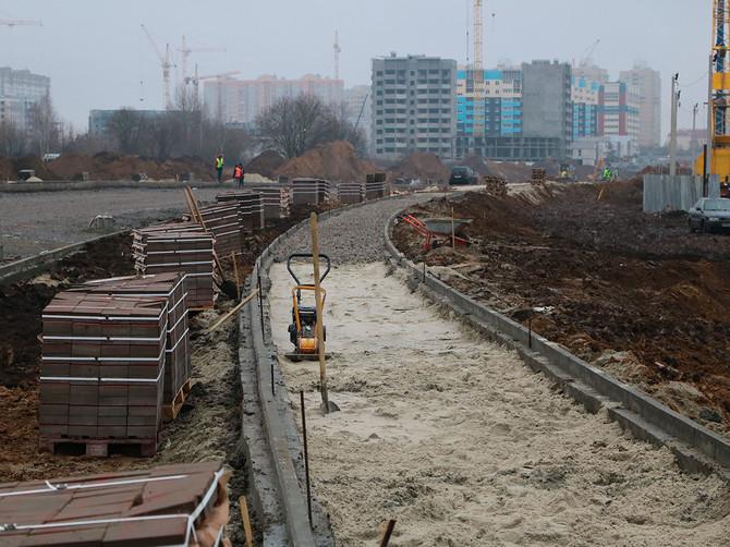 Мэра Макарова впечатлила скорость работ по строительству дороги от вокзала до «Метро»