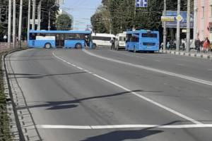 Из-за «Кросса нации» центр Брянска перекрыли автобусами