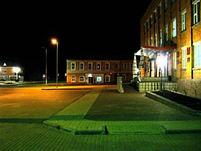 В поселке Рогнедино благоустроят улицу Ленина