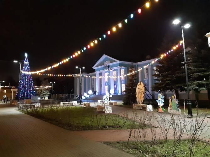 В Брянске навели красоту возле ДК имени Горького