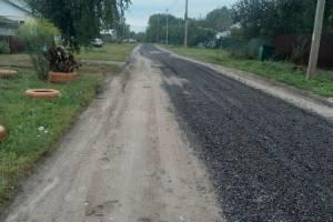 Жители Суземки с издевкой отнеслись к подсыпке дороги щебнем