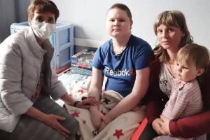 Брянцы помогли тяжелобольному 14-летнему мальчику