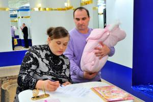 В брянской семье родился седьмой ребенок