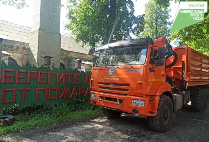 В Брянской области для лесопожарной службы купили КамАЗ повышенной проходимости