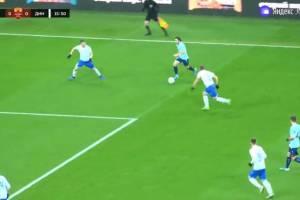 «Нижний Новгород» обыгрывает 1:0 брянское «Динамо»