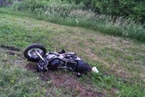 Брянская полиция ищет свидетелей гибели мотоциклиста в ДТП 9 июля