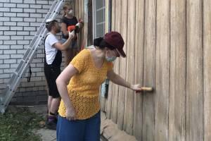 В Брянске начали восстанавливать исторический дом на улице Горького