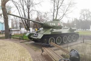 Брянский завод заберёт танк Т-34 из сквера Морозова