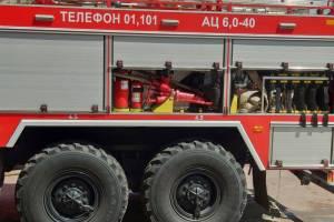 В горящей квартире под Гордеевкой пострадал человек